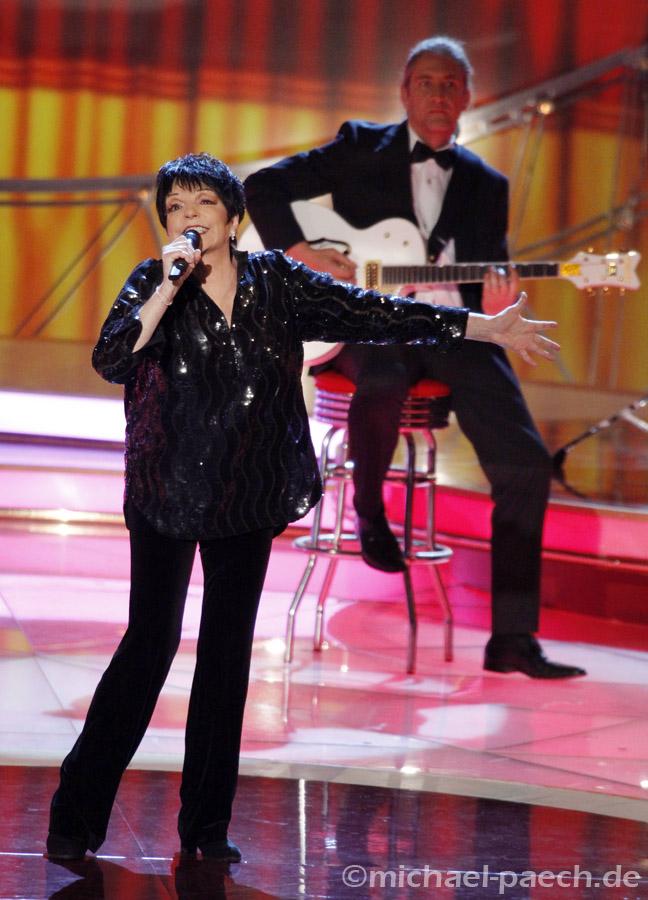 Liza Minnelli @ Carmen Nebel