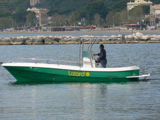 Lizard, la barca solare