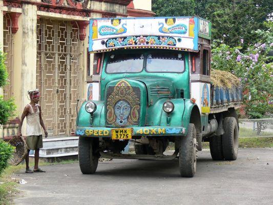 LKW in Kalkutta (Zoo)