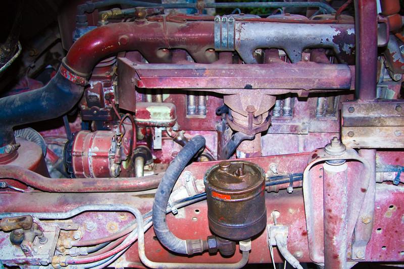 LKW Motor von 1983