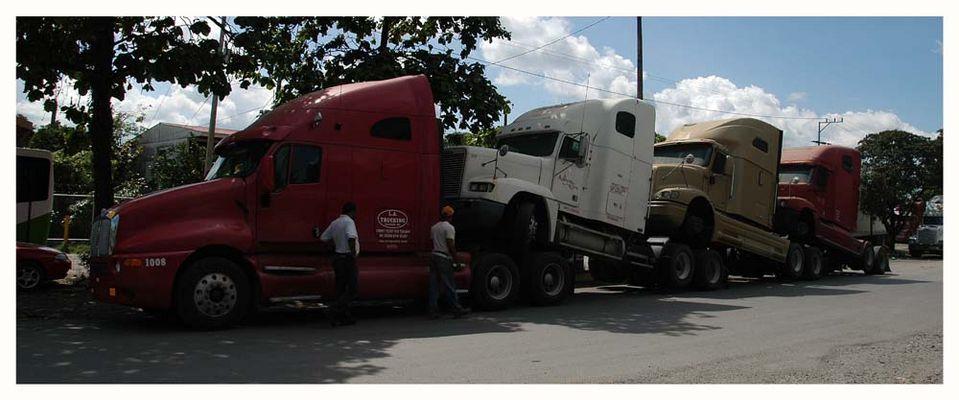 LKW parking