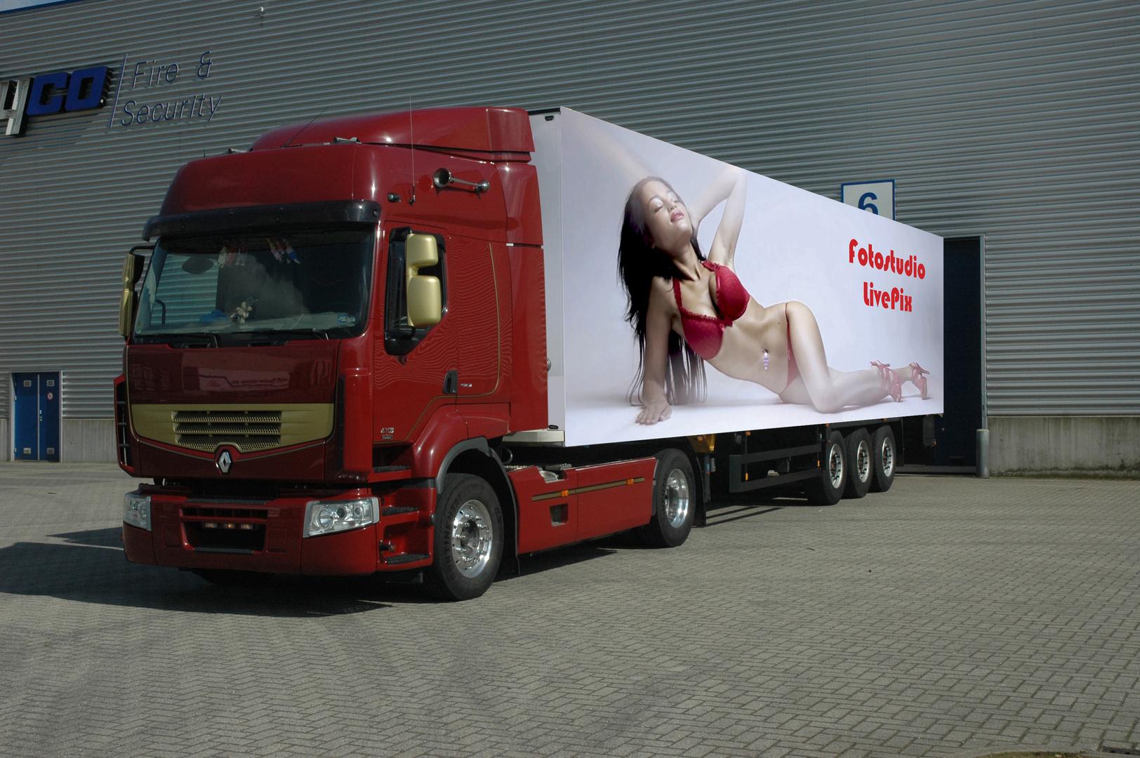 LKW Werbung Foto & Bild | werbe- und produkt- fotografie ...