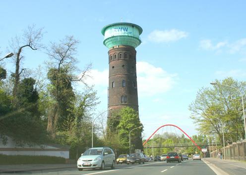Llemadeo , Wasserturm, Oberhausen