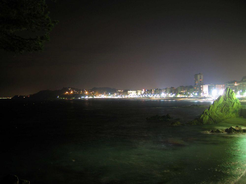 Lloret de Mar bei Nacht