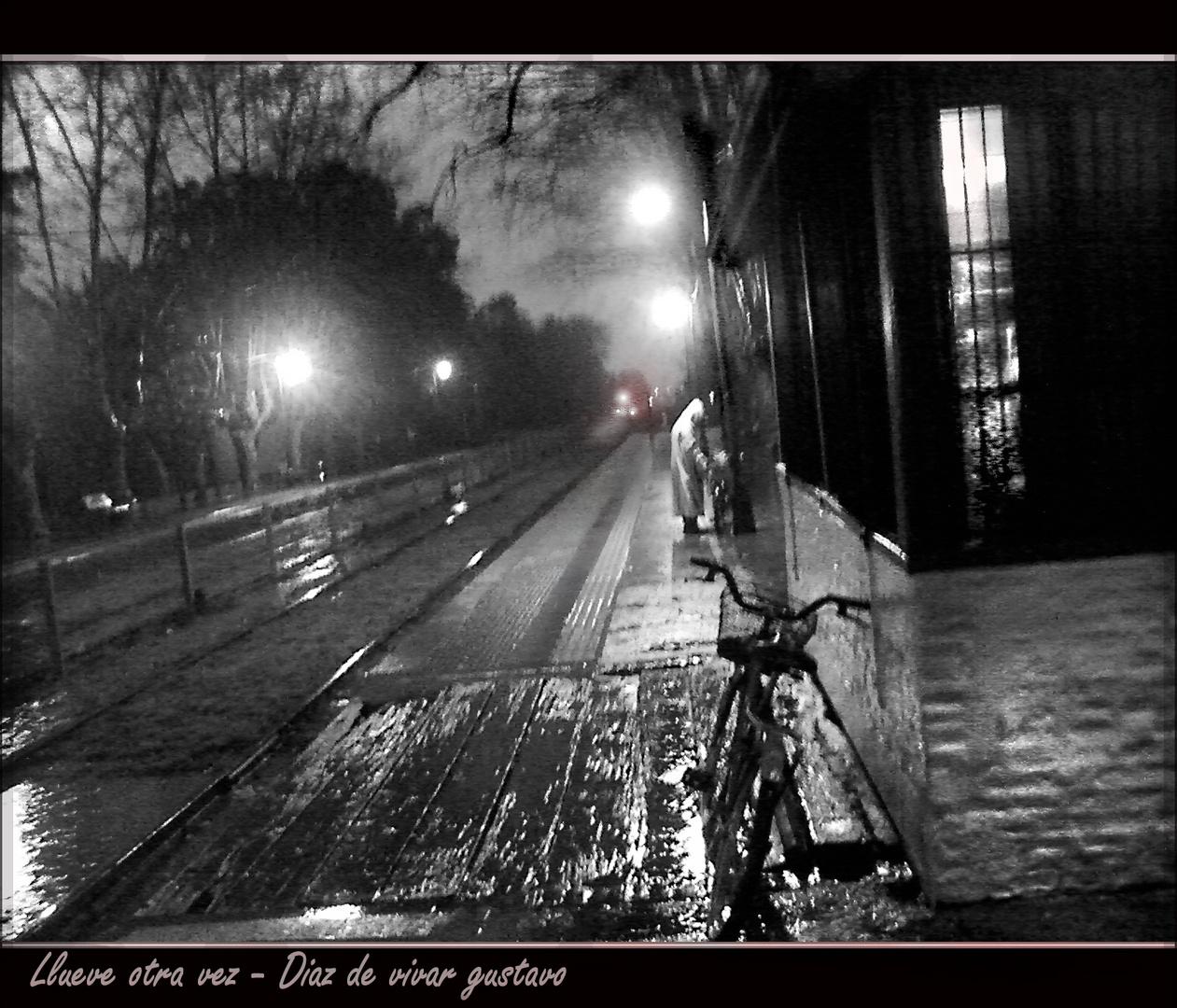 Llueve otra vez - Diaz de vivar gustavo