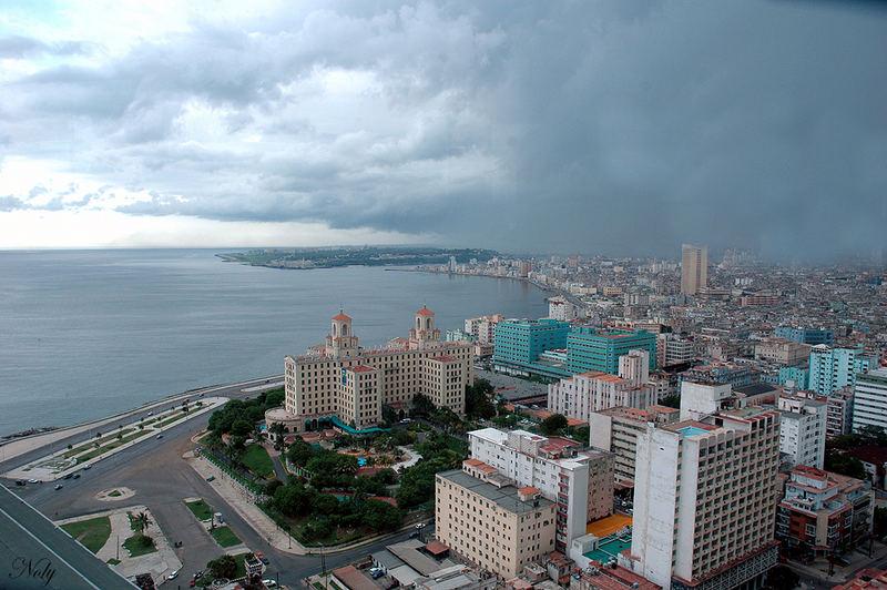 Llueve sobre La Habana