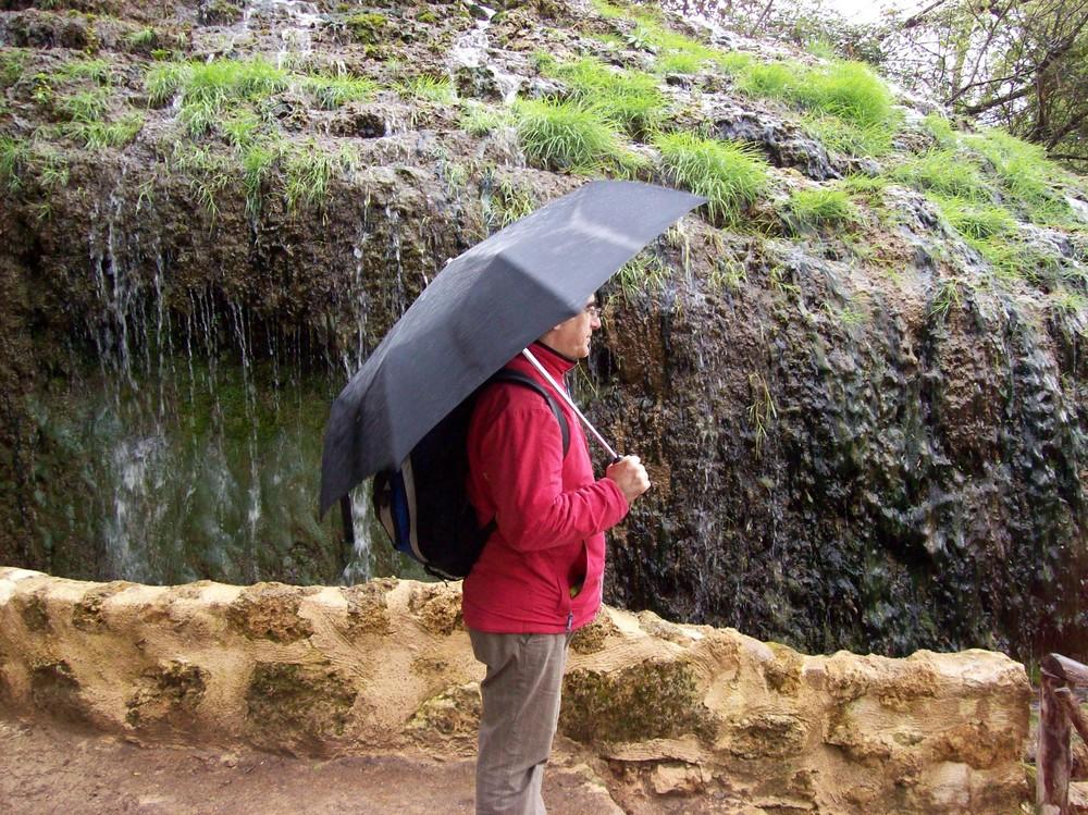 Lluvia en el Monasterio