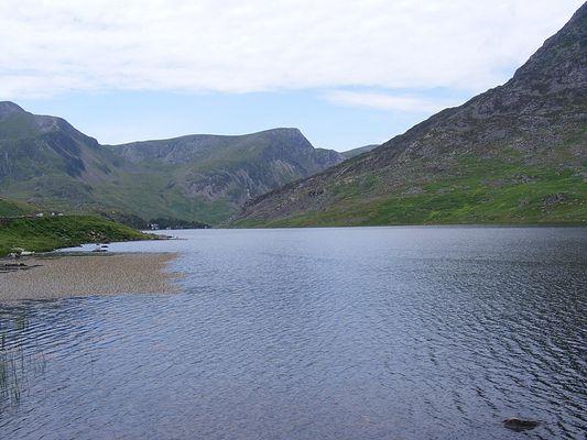 Llyn Ogwen, Snowdonia, North Wales.