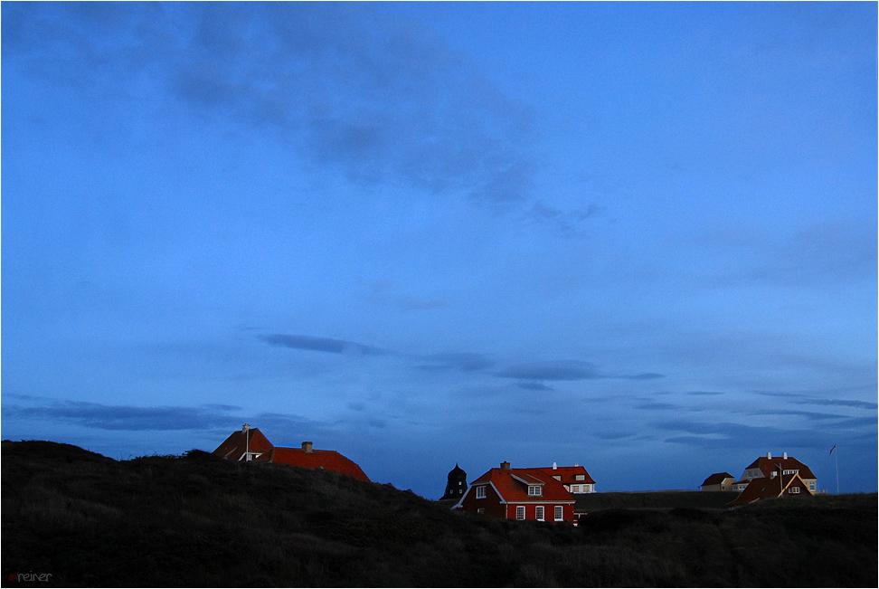 Lønstrup - blue