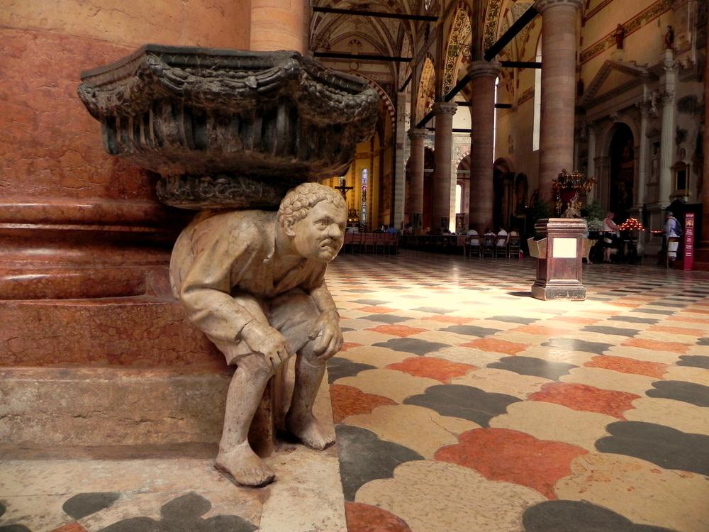 lo mejor de verona,Basilica Sta Anastasia