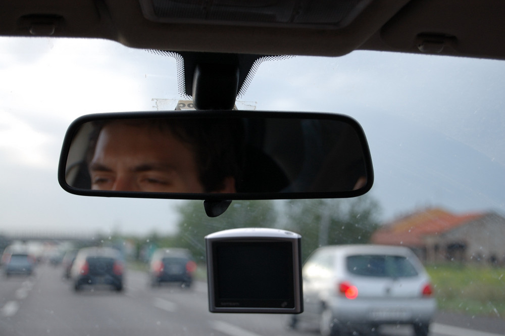 Lo sguardo del guidatore