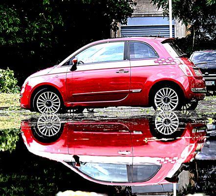 Lo specchio d'acqua..