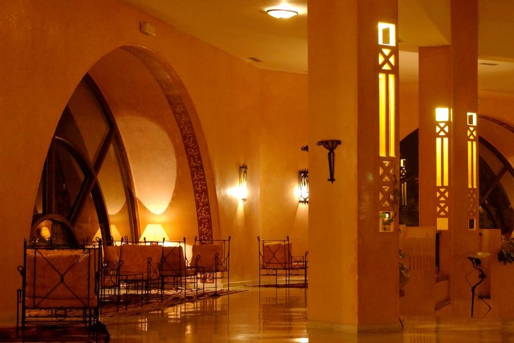 Lobby Hotel Chich Khan