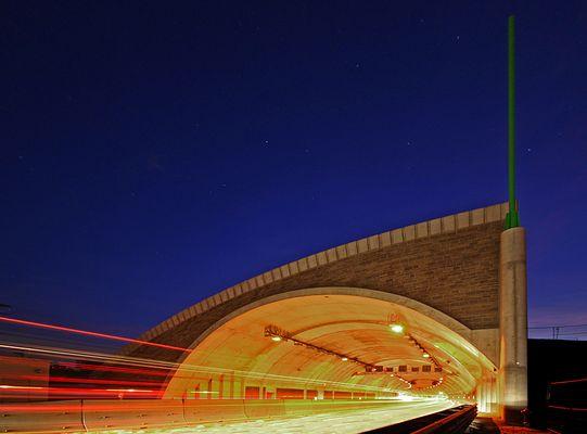 Lobdeburgtunnel A4 Jena