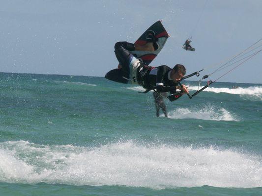 local am Flag Beach - Fuerteventura