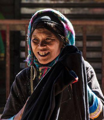 Local market - Phongsaly