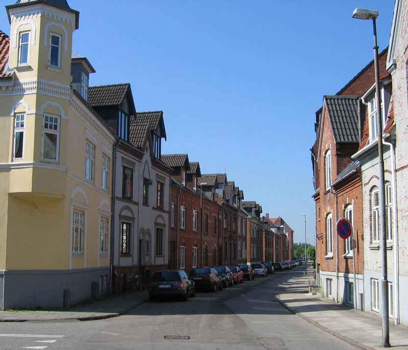 Local Vejle neighborhood