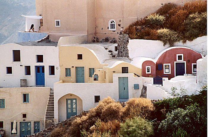 Location auf Santorin