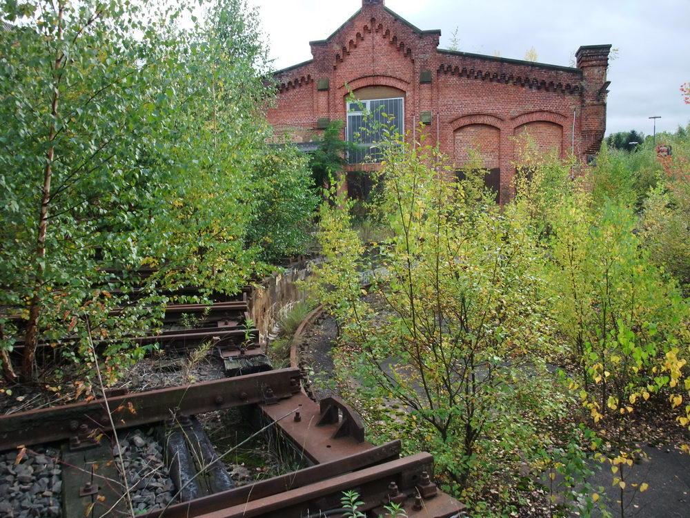 Location für Fotoshootings – Eisenbahngelände -2