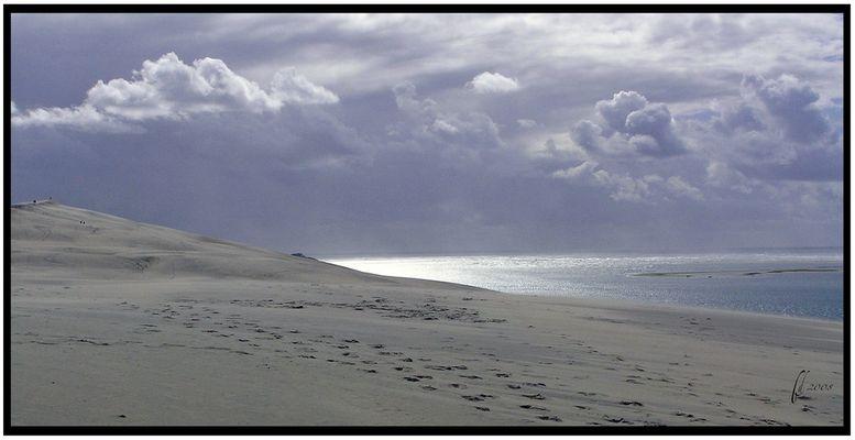 L'océan vu de la dune du Pyla