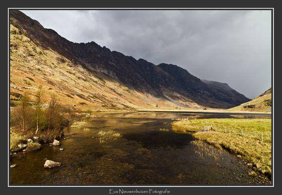 Loch Achtrioctan in National Parc Glen Coe (Scotland)