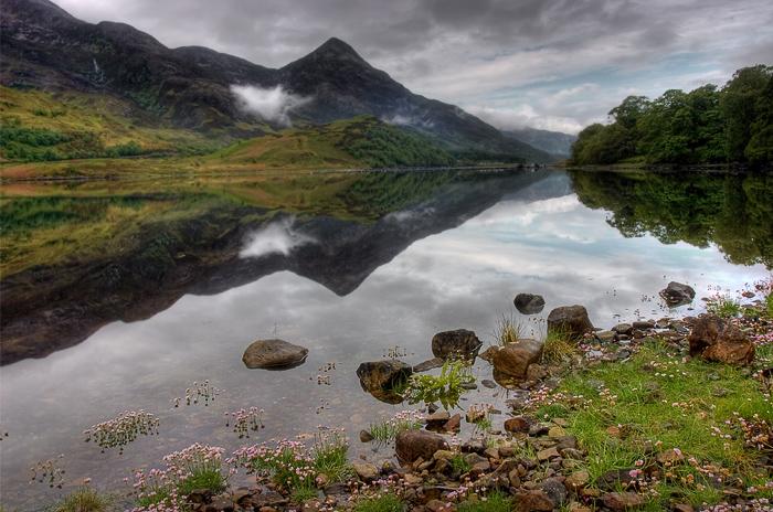 Loch Lomond. Schottland.