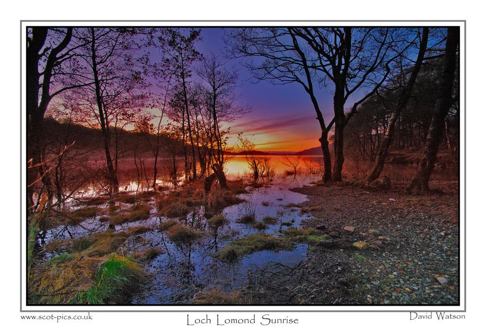 Loch Lomond Sunrise