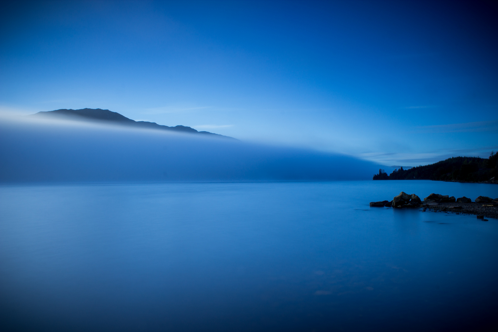 Loch Ness am Morgen