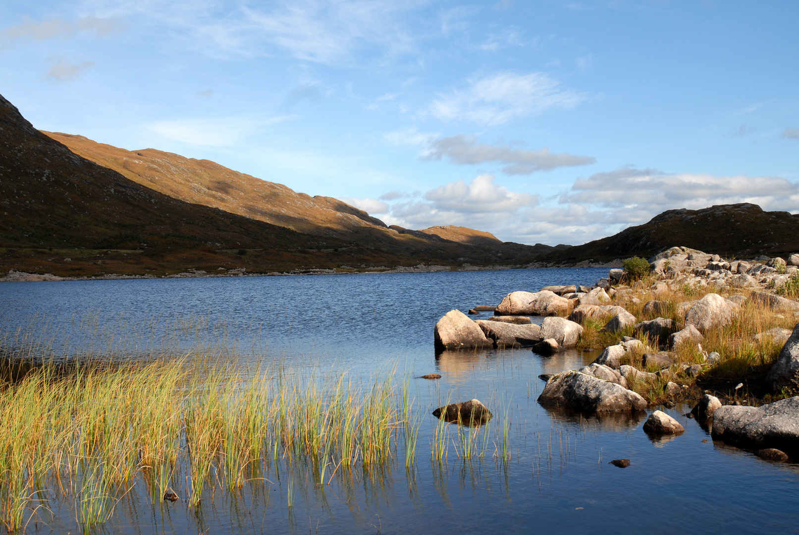 Loch on the road