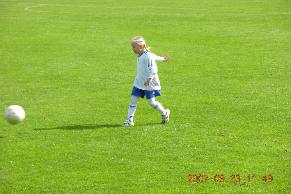 Locke 5 beim Training