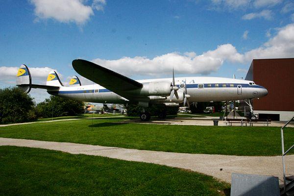 Lockheed 1049G Super Constellation von Old Connie Adenauer in Hermeskeil
