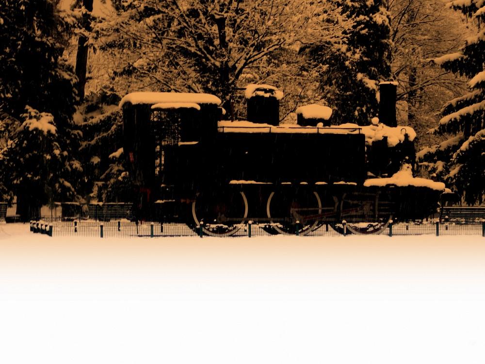 locomotiva in pensione