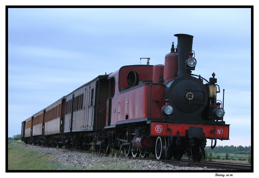 Locomotive de saint Valéry sur somme