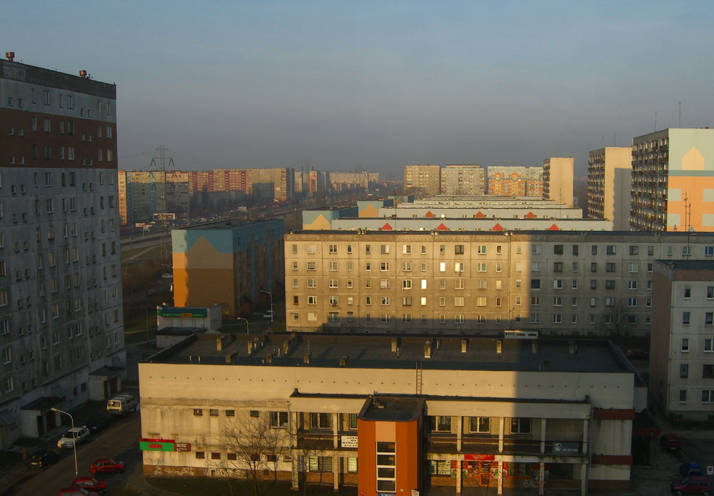 Lodz - Hochhaussiedlung
