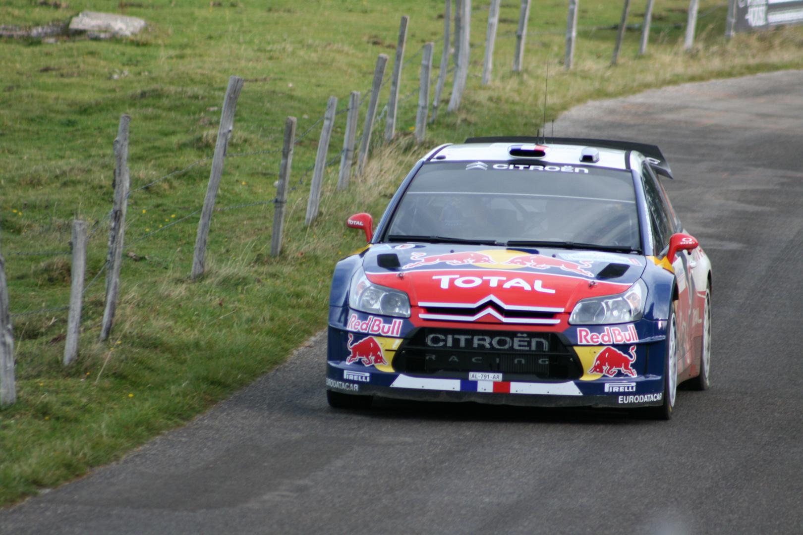 loeb sebastien montée petit ballon WRC 2010 premier