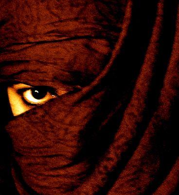 L'oeil voilé