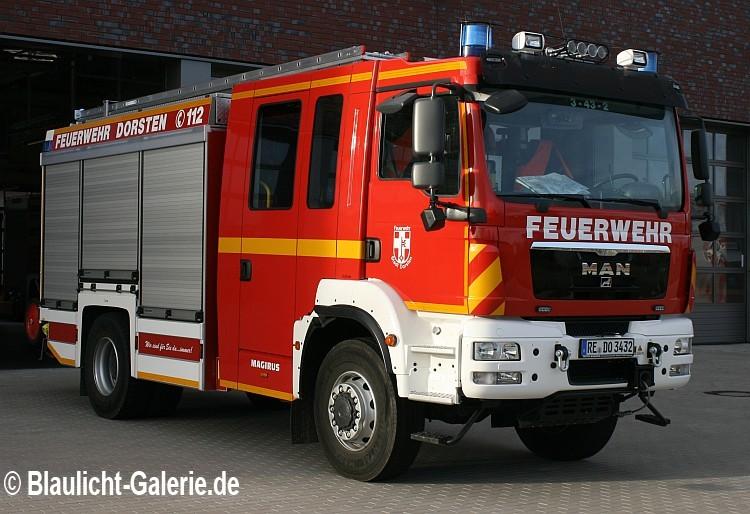 Löschfahrzeug der Feuerwehr Dorsten
