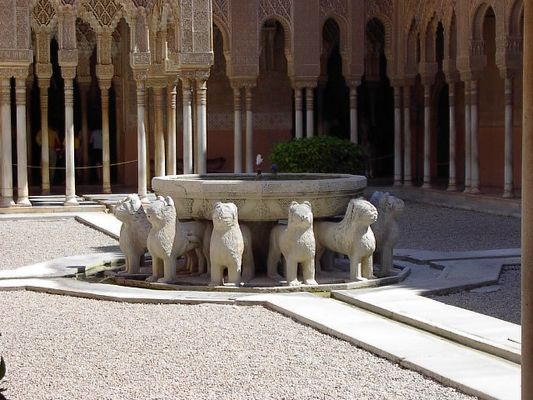 Löwenbrunnen/Alhambra