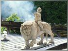 Löwendenkmal im Künstlergarten