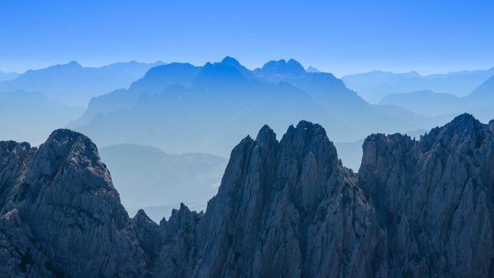 Loferer Steinberge - mal aus einem anderen Blickwinkel