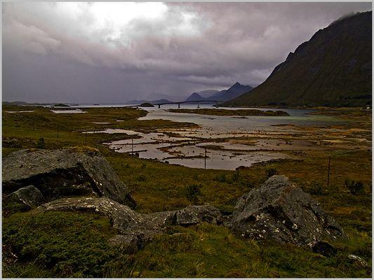 Lofoten : Brücke zwischen den Inseln