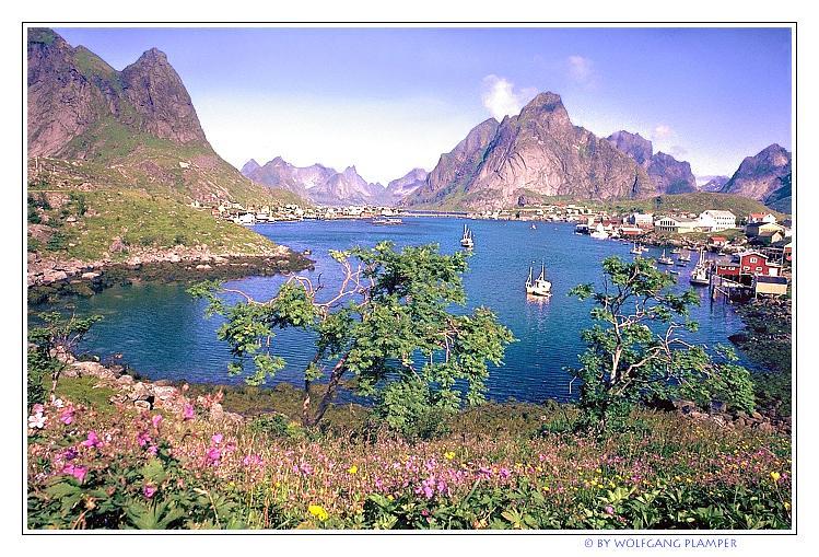 Lofoten (Norwegen).