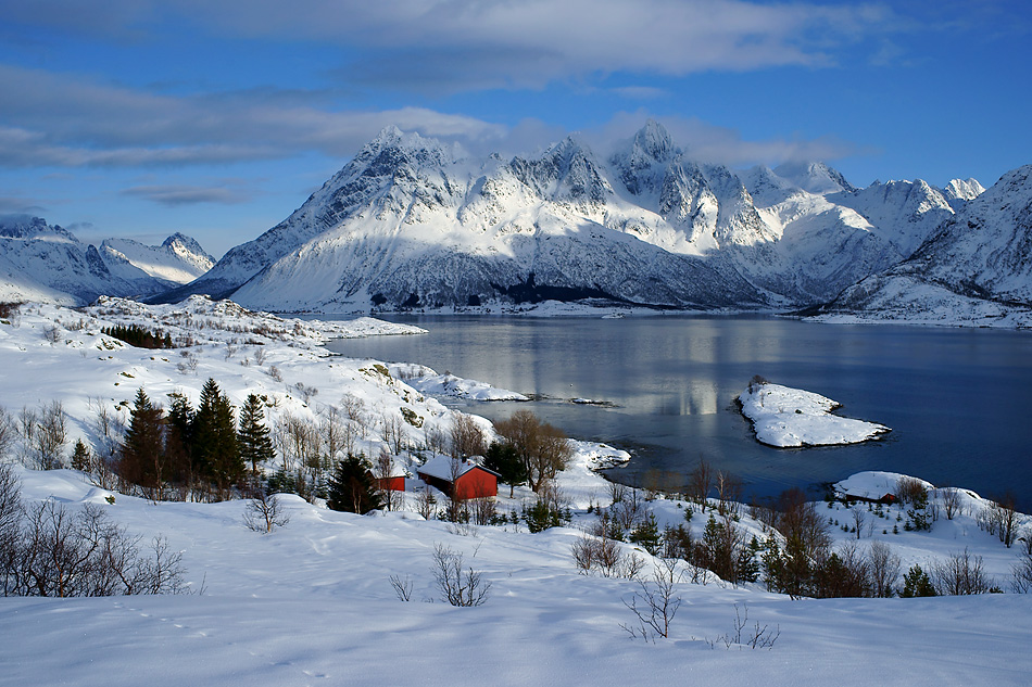 lofoten norwegen im winter landschaftsimpression foto bild europe scandinavia norway. Black Bedroom Furniture Sets. Home Design Ideas