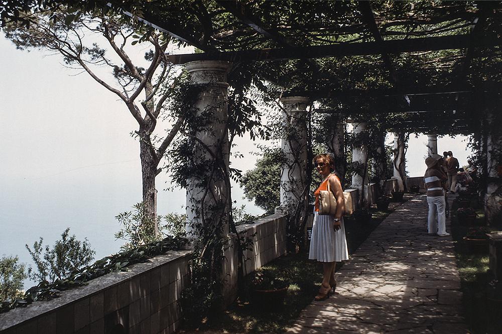 Loggia in der Villa San Michele