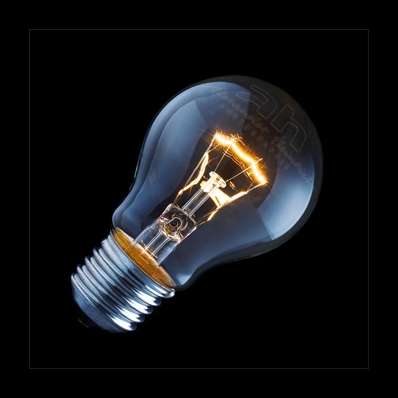 Logo-Glühbirne