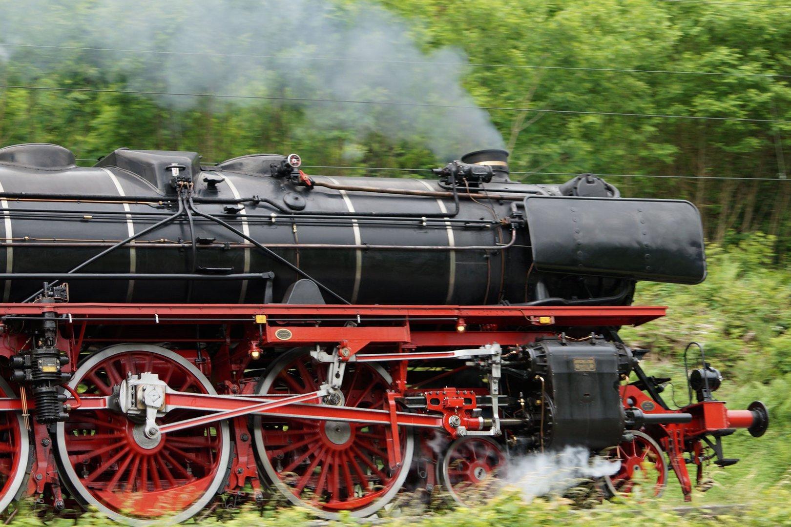 Lok 01 202 in Hirschhorn (Neckar)