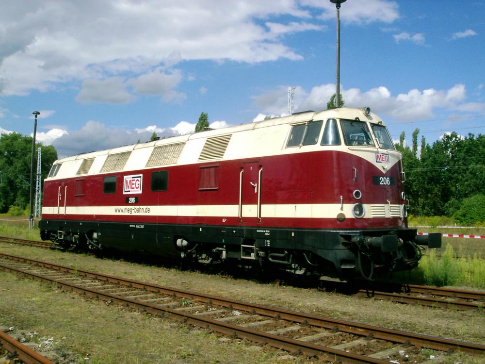 Lok 206 der MEG