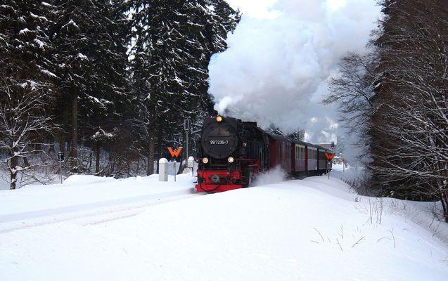 Lok 99 7235-7 Drei-Annen-Hohne