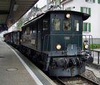 Lok Be 4/4 Nr. 15 der Bodensee-Toggenburg-Bahn bei einer Sonderfahrt im Bf. Rüti ZH
