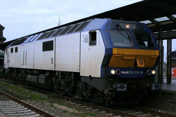 Lok der Nordostseebahn
